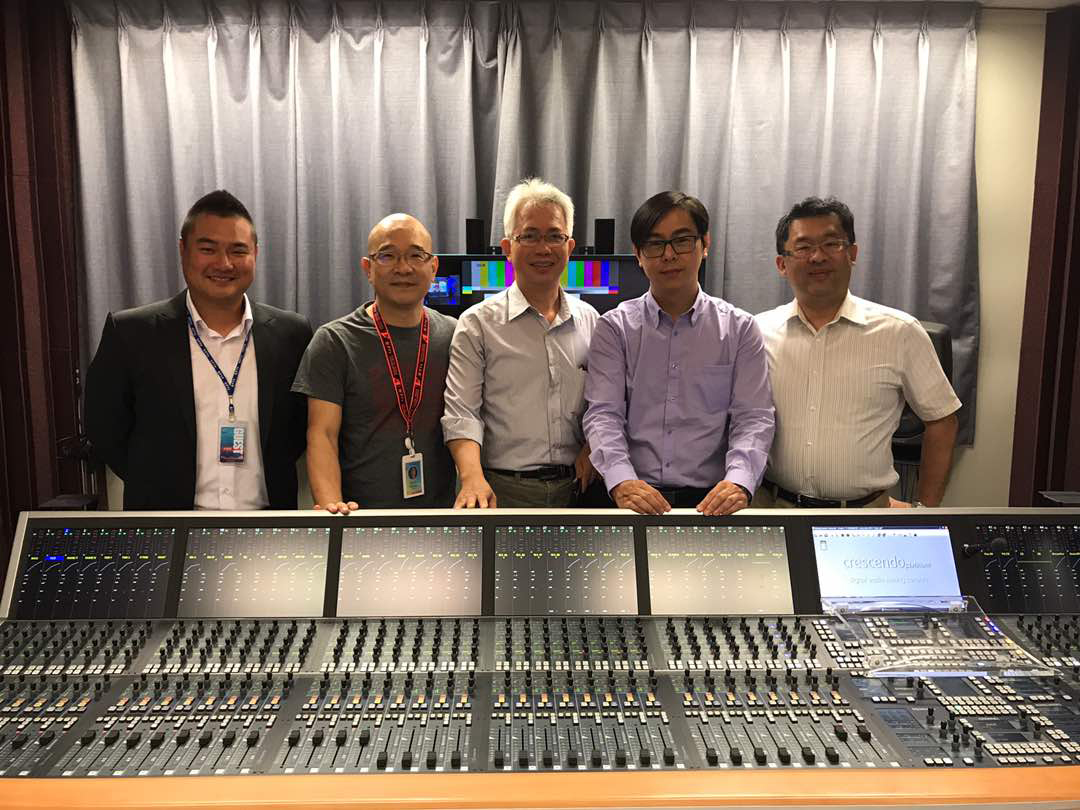 2017 10 Stagetec Asia Formosa TV team