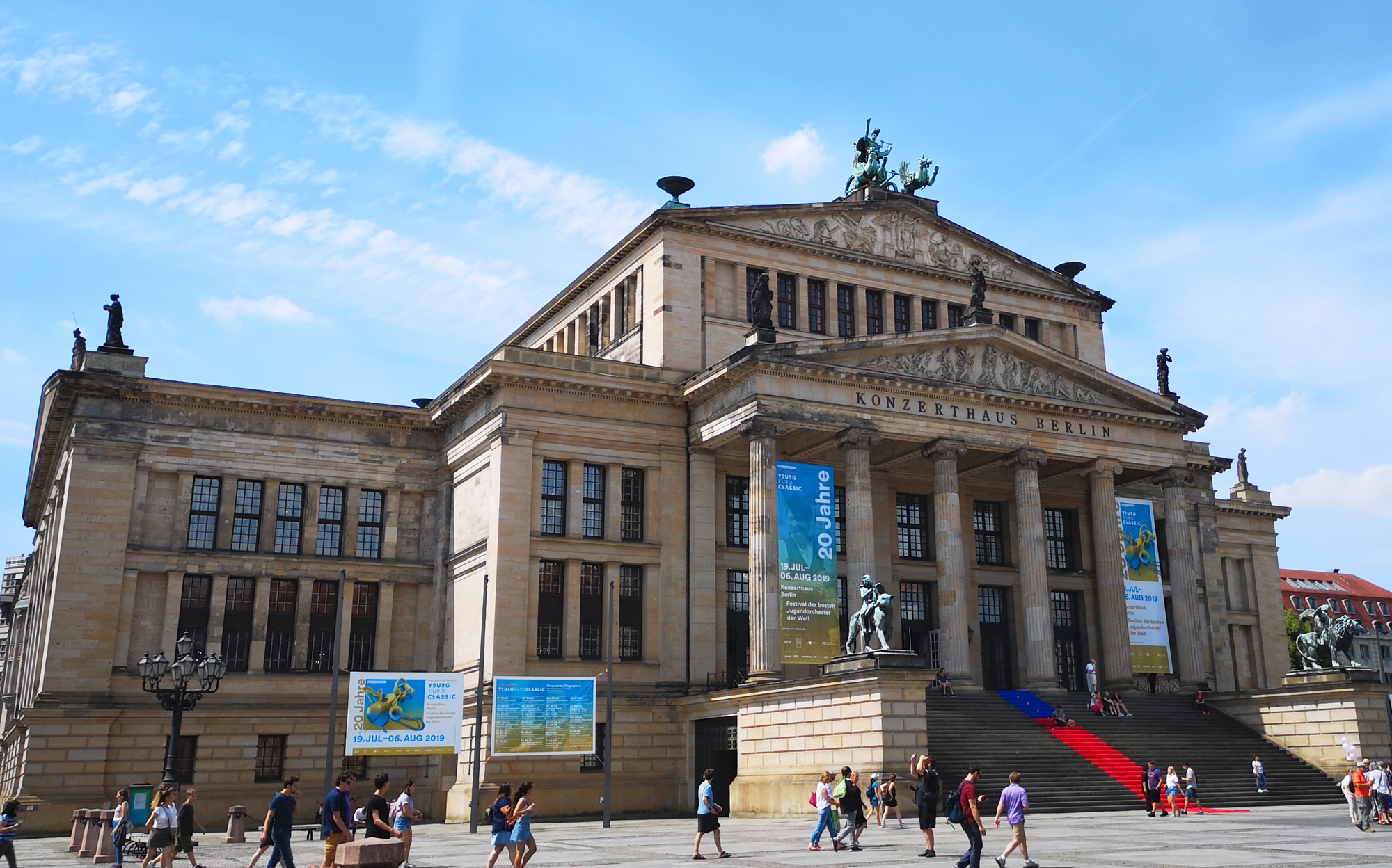 2019 07 StageTec Avatus Konzerthaus outside