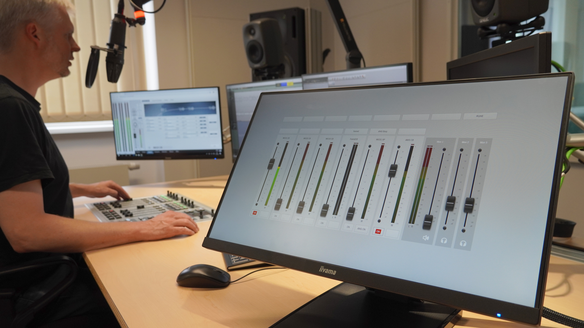 2020 08 StageTec ON AIR flex by Stage Tec for self-op in WDR regional studios